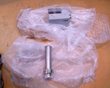 Foam packing for instrument parts