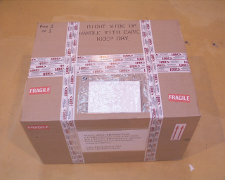 Seal box with tape
