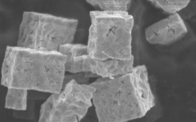 Indium oxide cubes prepared by hydrothermal synthesis as catalysts for CO oxidation