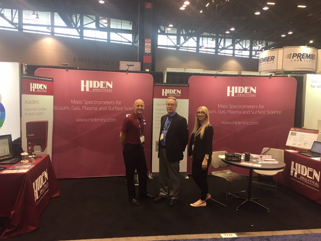 The Hiden Analytical Stand at PITTCON 2017