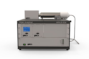 HPR-20 EGA compact bench-top system for evolved gas analysis in TGA-MS