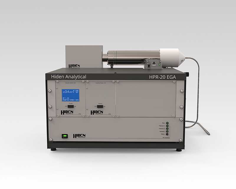 Compact HPR-20 Evolved Gas Analyser