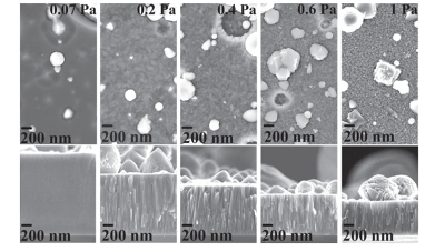 Investigating the plasma parameters on the resultant surface microstructure in a DC arc Plasma