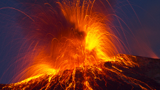 Long-Term Volcano Surveillance via Volcanic Sediment Analysis